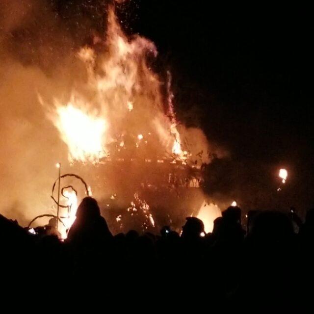 Bealtine Bonfire Uisneach 2018